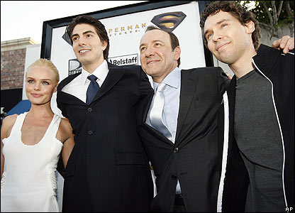 Kate Bosworth, Brandon Routh, Kevin Spacey, Bryan Singer