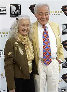 Noel Neill and Jack Larson
