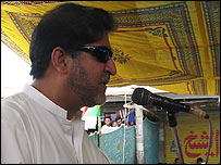 Akhtar Mengal, leader of Balochistan National Party