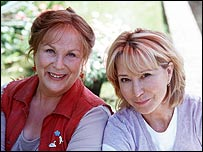 Pam Ferris and Felicity Kendall