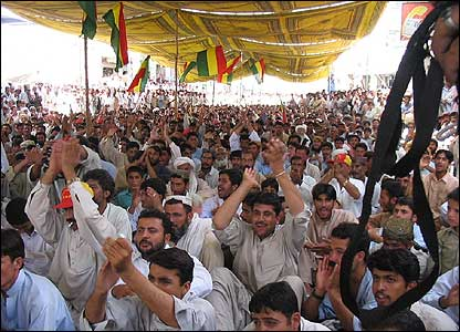 Balochistan National Party rally