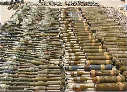 Arms haul in Dera Bugti
