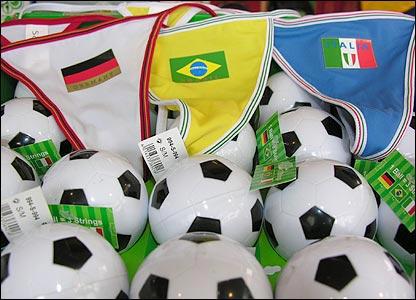 Objetos del Mundial