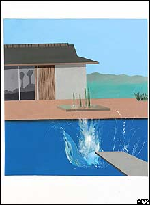 David Hockney's The Splash,