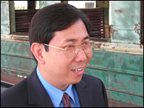 Director of Cambodian Railways Sokhom Pheakavanmony