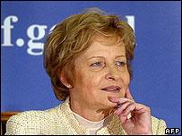 Polish Finance Minister Zyta Gilowska, dismissed 23 June 06