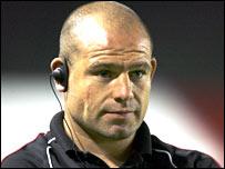 Leicester forwards coach Richard Cockerill