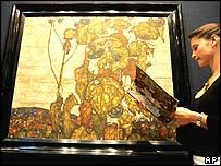 Egon Schiele painting