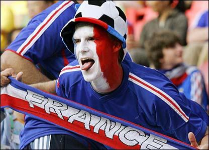 A France fan