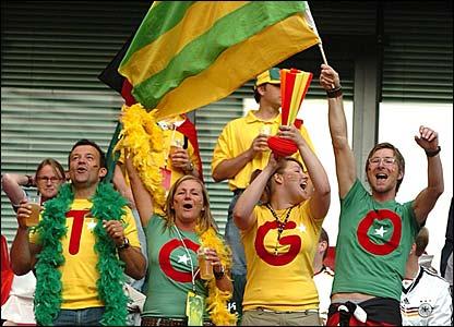 Togo fans