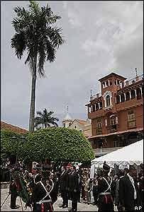 Acto realizado en honor a Bolivar en Panamá.