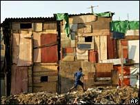 Brazil shantytown