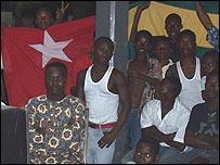 Togo fans in Lome (Pic: Erick Kaglan)