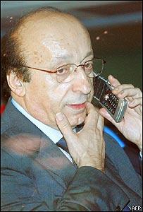 Luciano Moggi, ex director del Juventus.