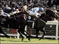 Les Arcs wins the Golden Jubilee Stakes at Royal Ascot