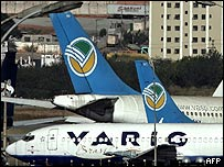 Aviones de Varig.