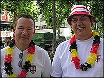 Mark, left, and James Fortnum