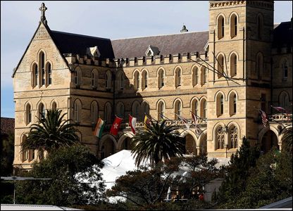 Nicole Kidman and Keith Urban have married at a former seminary in Manly, a suburb of Sydney.