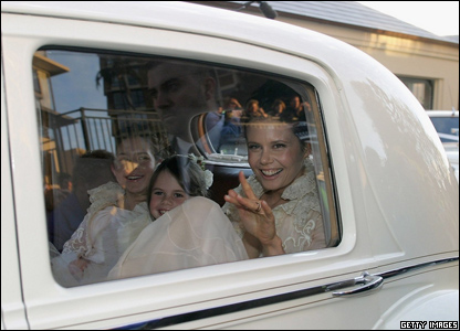 Kidman's sister Antonia was one of the star's bridesmaids at the wedding.