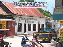 Aracataca.  Foto: Hugo Carro.