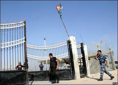 Rafah border crossing, 25 June.