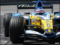 Fernando Alonso obtuvo su primer podio en Am�rica del Norte.