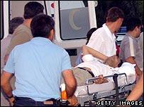 Victim of explosion at Manavgat waterfall in Turkey 25 June 2006
