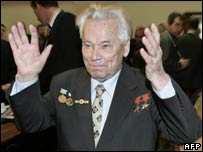 Lt-Gen Mikhail Kalashnikov