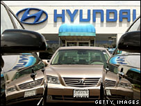 Hyundai car dealership