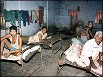 Prisoners in Bihar jail
