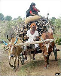 India villagers