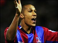 Palace defender Fitz Hall