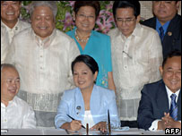 President Arroyo signs law abolishing death penalty - 24/6/06