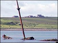 Scapa Flow in Orkney