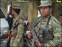 Tamil Tiger forces