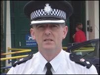 Chief superintendent Gareth Pritchard