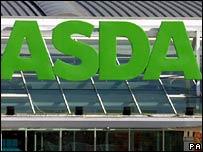 Asda supermarket - generic