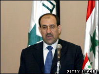 Iraqi Prime Minister Nouri Maliki reveals his national reconciliation plan