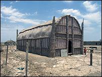 Marsh Arab reed house