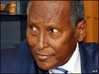 Somalia's President Abdullahi Yusuf