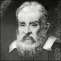 Galileo Galilei.  Image: AP