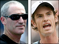 Brad Gilbert and Andy Murray