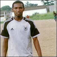 Teddy  Karlkani, Nigerian in Mbour, Senegal