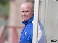 Reserve coach John Brown is leaving Rangers