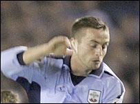 Southampton midfielder Matthew Oakley