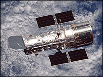 Hubble Space Telescope  Image: Nasa