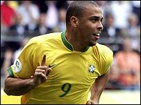 Ronaldo has scored 15 goals in World Cup finals