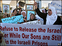 Prisoner protest in Gaza