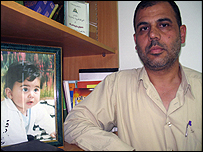 Palestinian writer Walid al-Houdaly