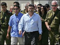 Amir Peretz, ministro de Defensa israelí.